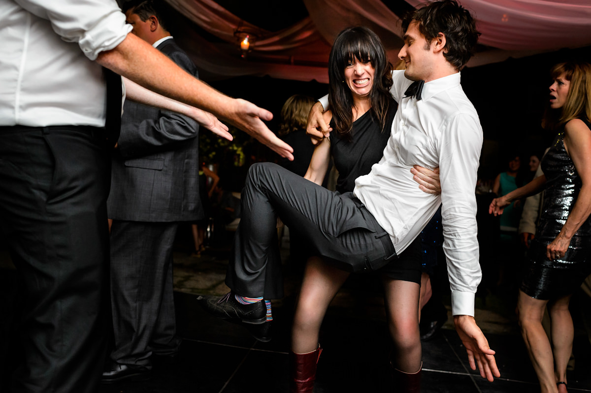 Charleston wedding reception dancing