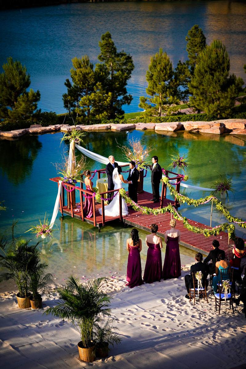 best lake las vegas wedding photos