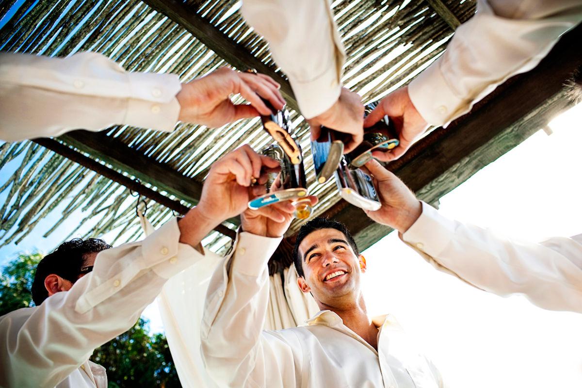 Jean and Michael's wedding at Hotel California in Todos Santos, California