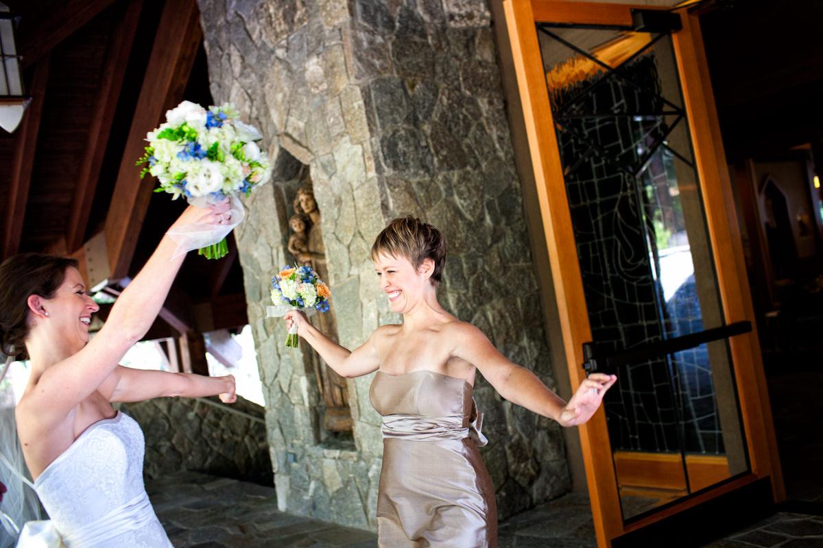 Noree and Doug's wedding photos from Lake Tahoe, California