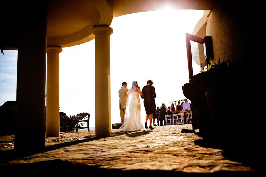 Jean and Michael's wedding at Hotel California in Todos Santos, California