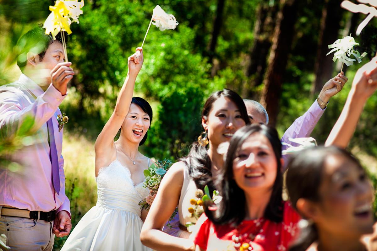 Ingrid and Jerry's wedding photos in Yosemite, California