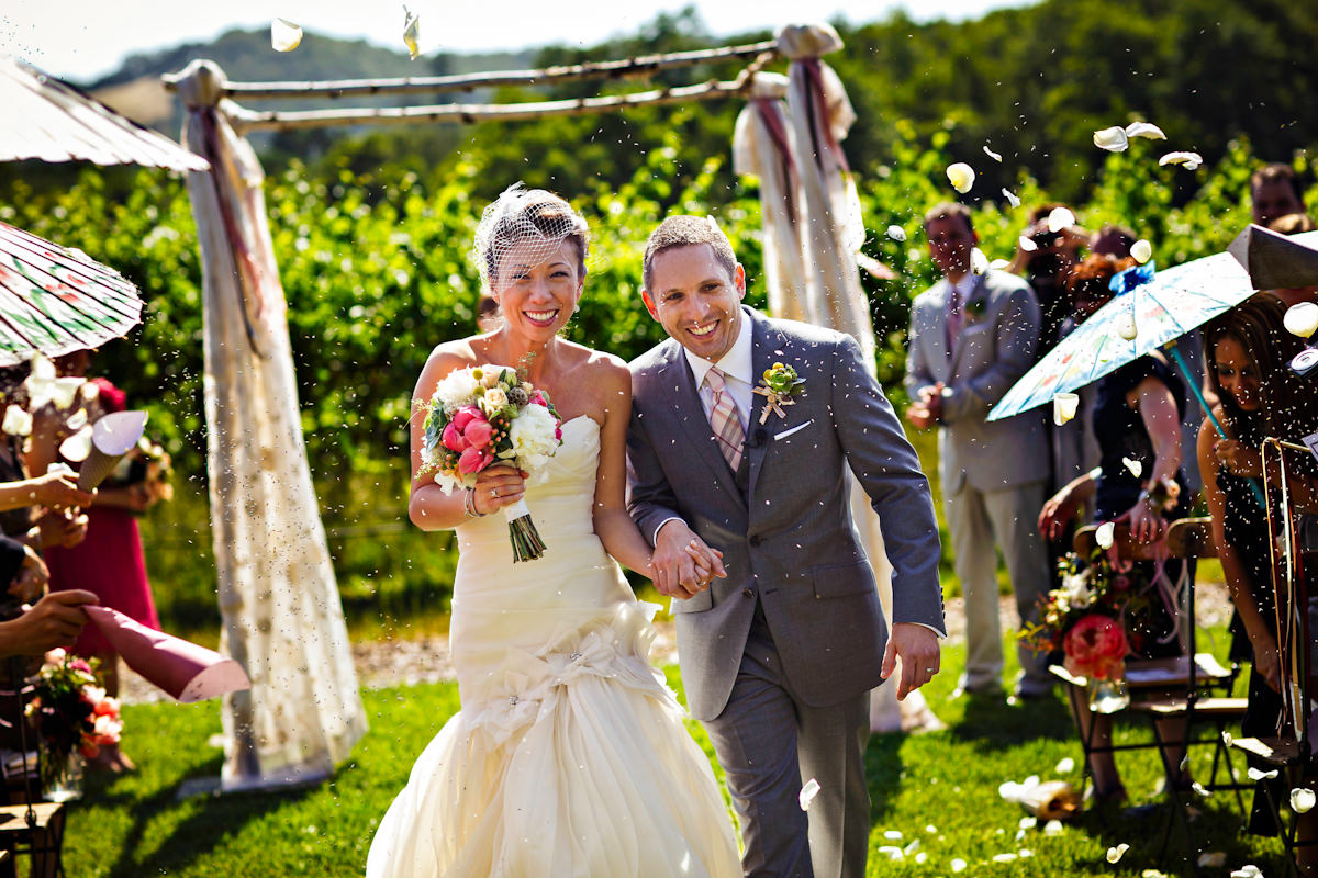 Lena and Jeff's wedding photos from Atwood Ranch in Glen Ellen, California