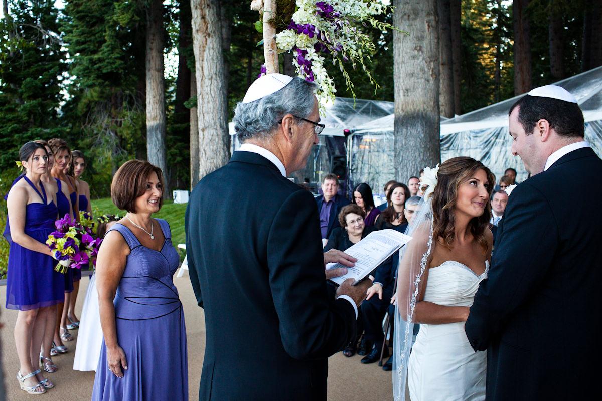 Amanda and Jeff's wedding photos from Tahoe City, California