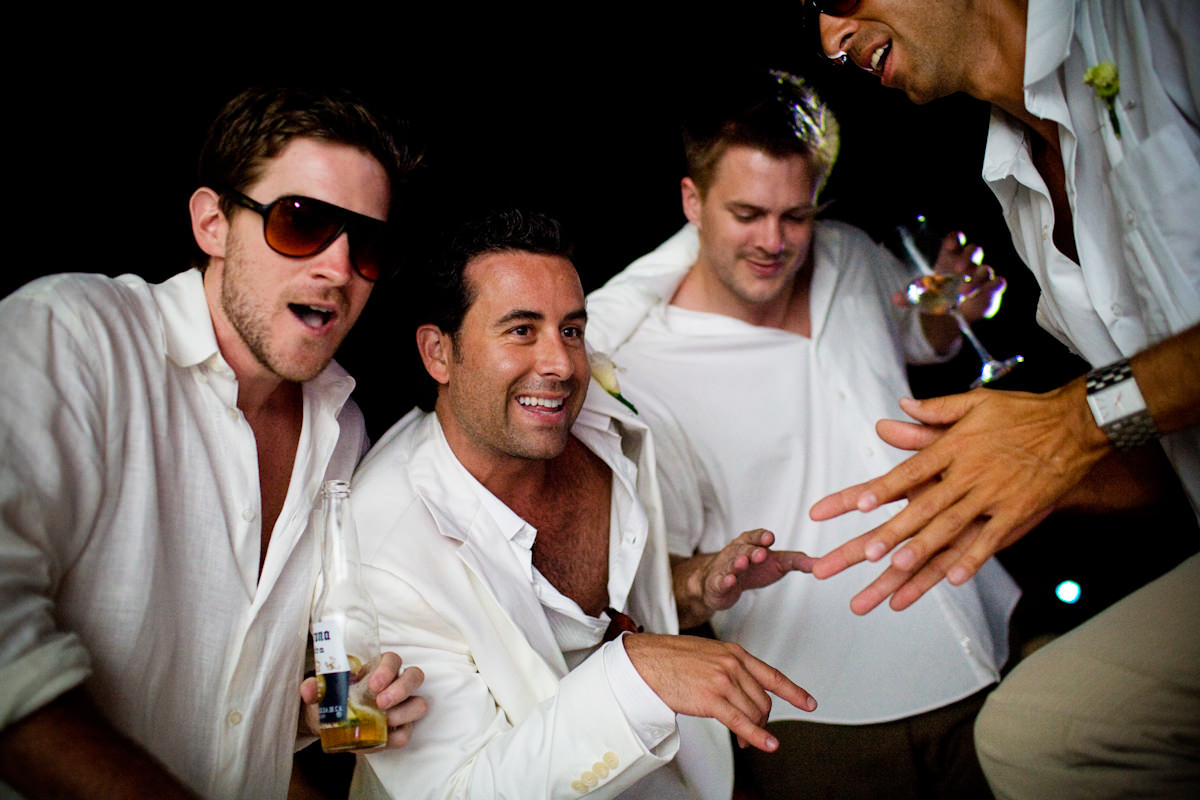 Carrie and Bobby's wedding photos from Playa del Carmen, Mexico