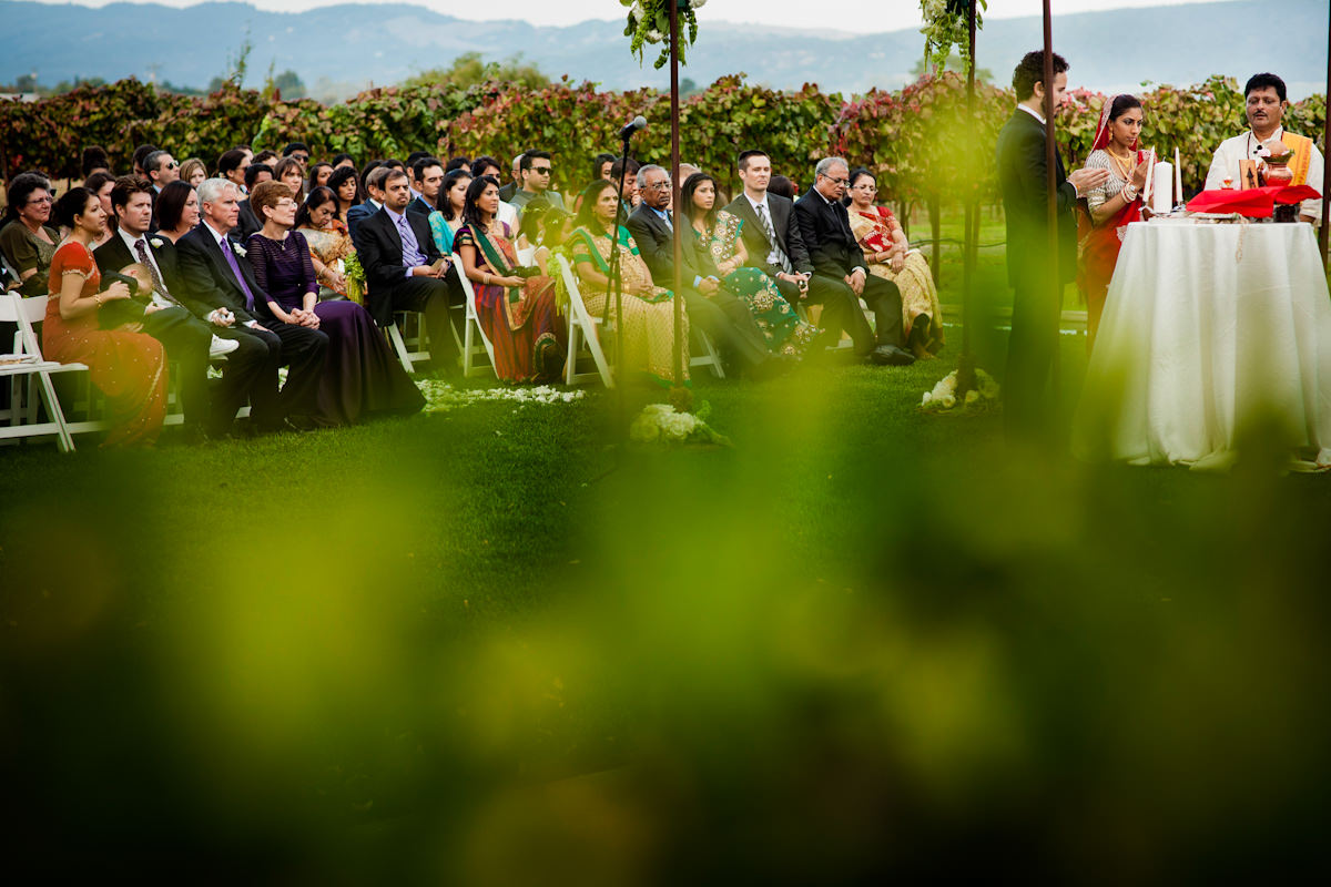 Sepna and Andis's wedding photos in Cornerstone Gardens, Sonoma, California