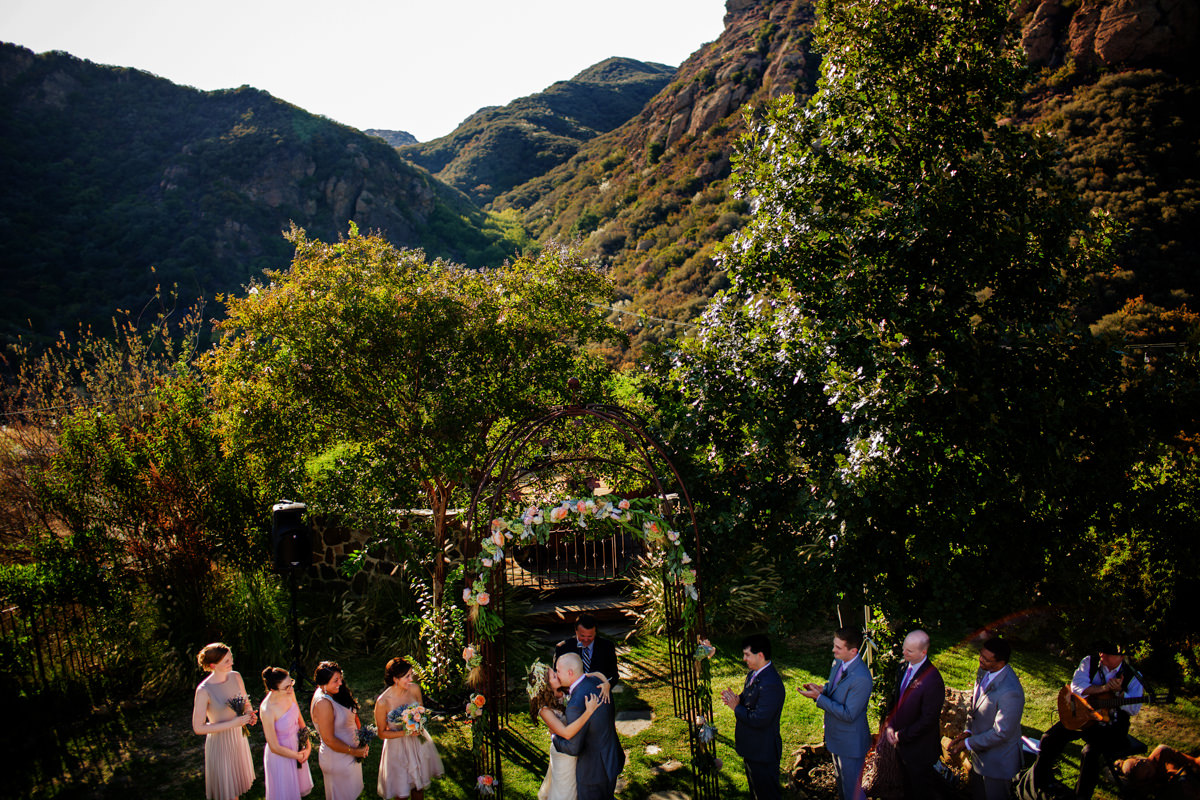 Andrea and Francis' wedding at Rancho del Diablo Dormido in Agoura, California
