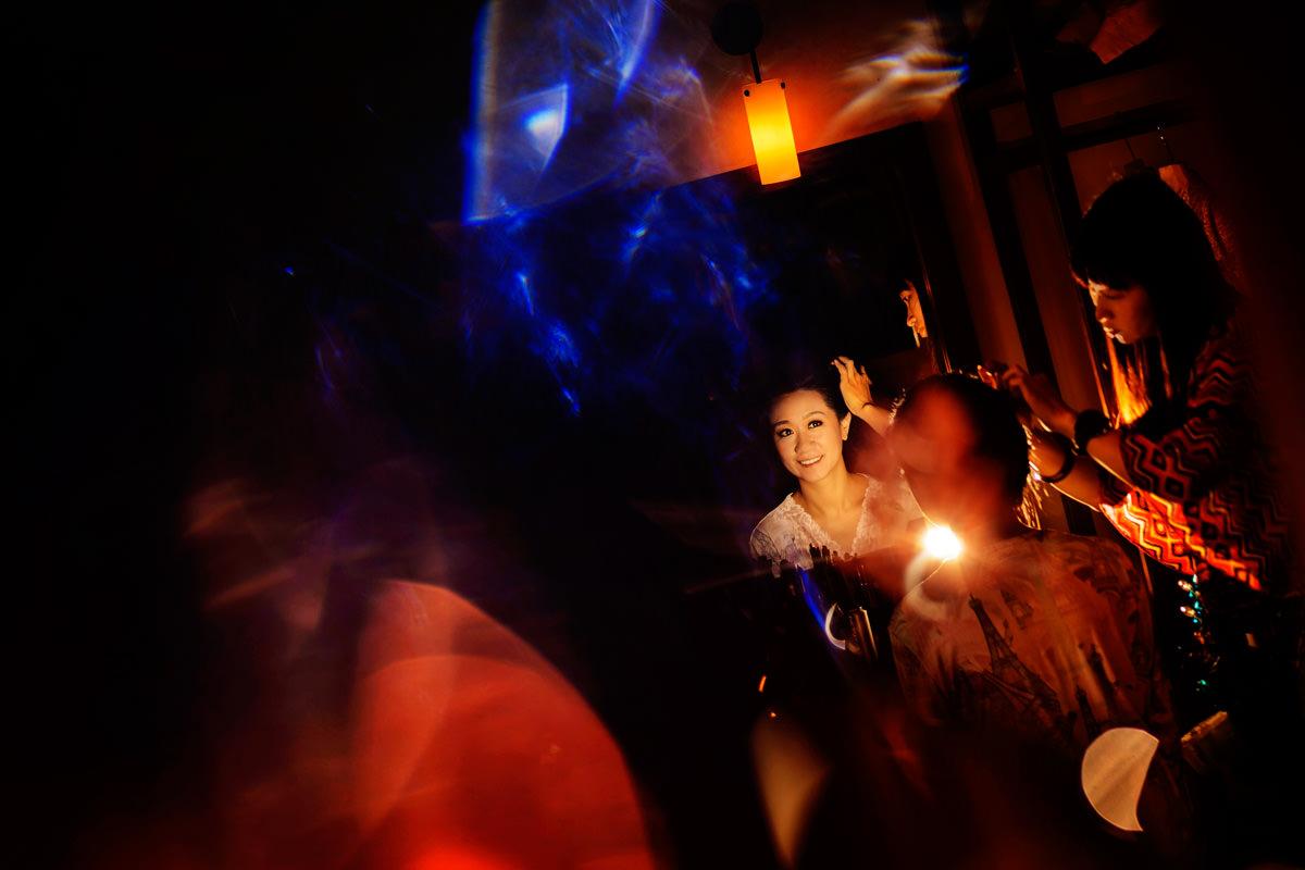 Christine Chi and ChiaMing Yeh's wedding at Uma resort in Paro, Bhutan.