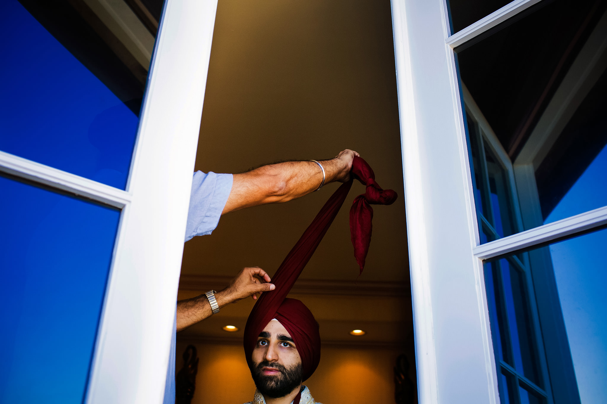 Meera and Amandeep's wedding in Palos Verdes, California.