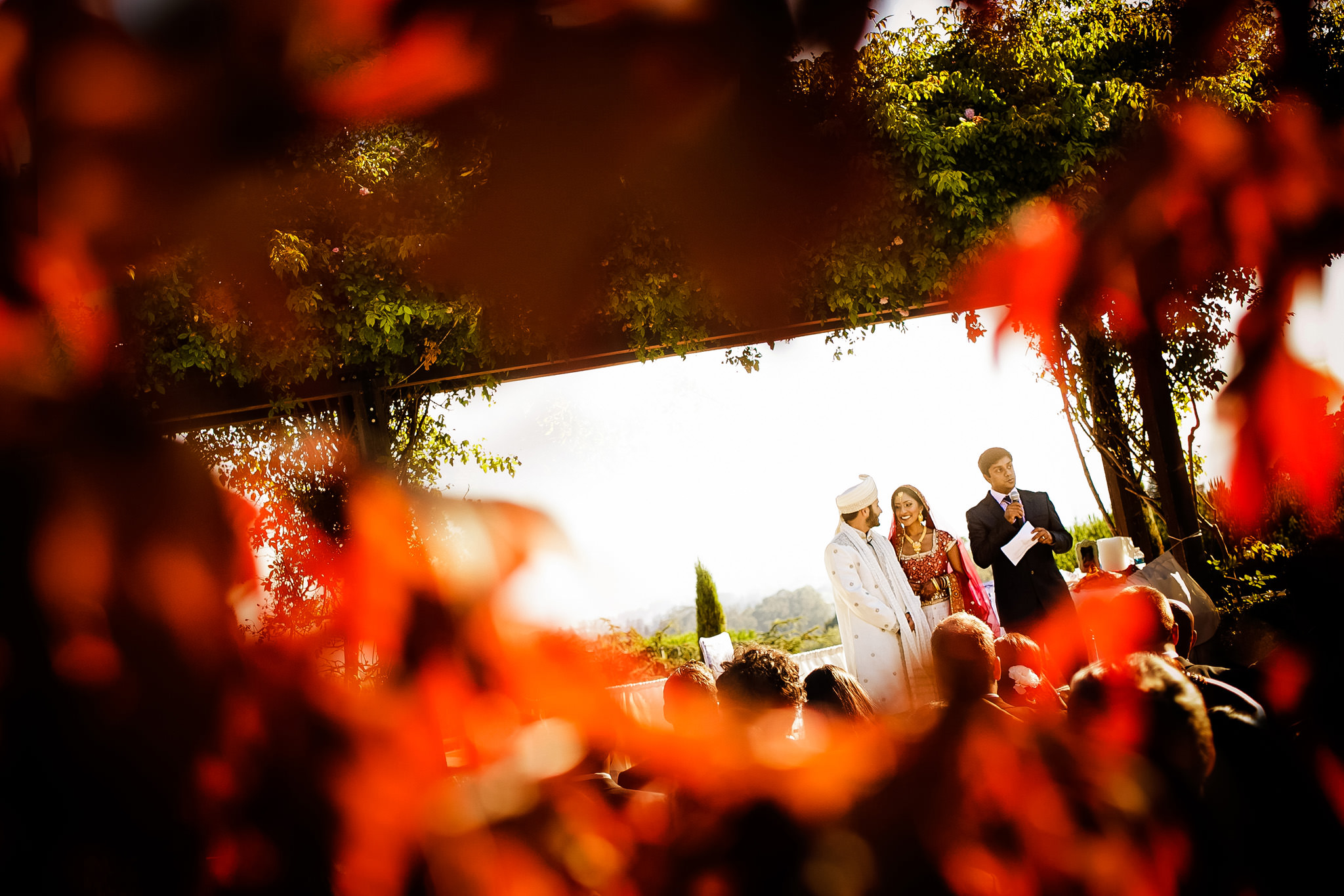 Emily and Shaneil's wedding at Chaminade Resort in Santa Cruz, California