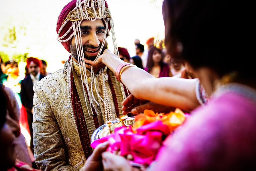 Meera and Amandeep's wedding in Palos Verdes, California.