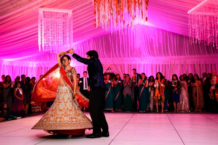 Neha and Arjun's wedding at the St Regis Hotel in San Francisco, California.