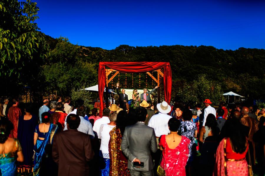 Colin and Karteek's wedding in Napa, CA.