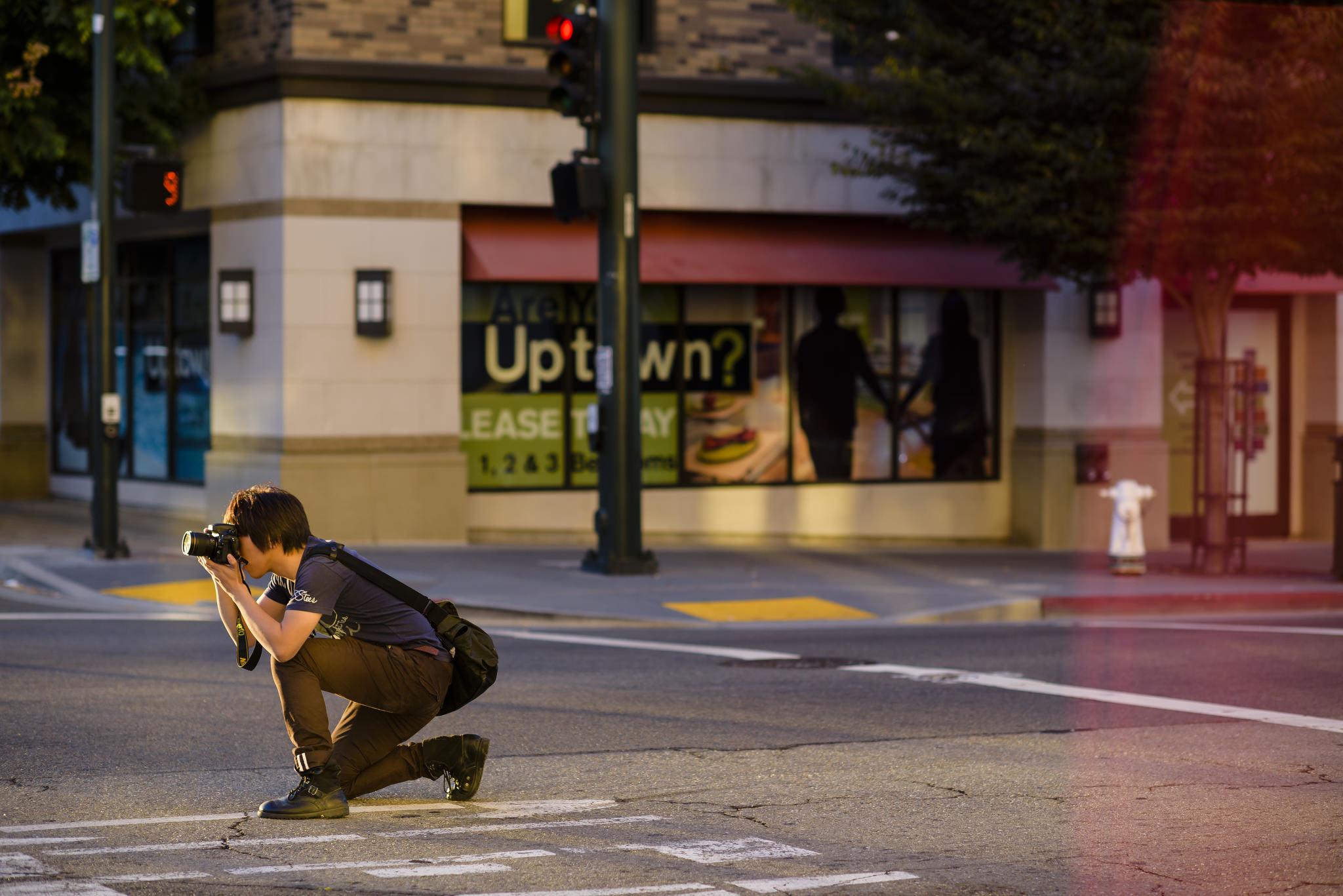 Justin Hunt in Oakland, California