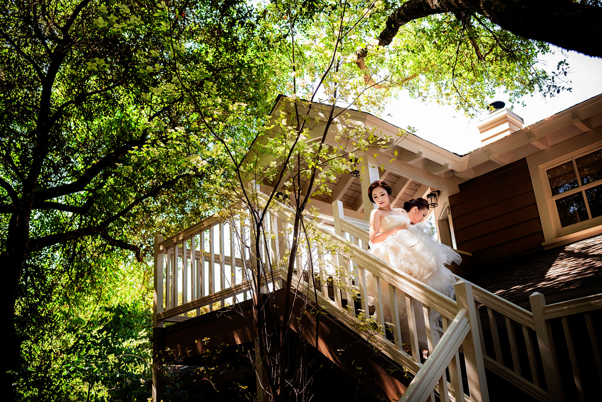 Joyce and Wei's wedding at Meadowood in St. Helena, CA.