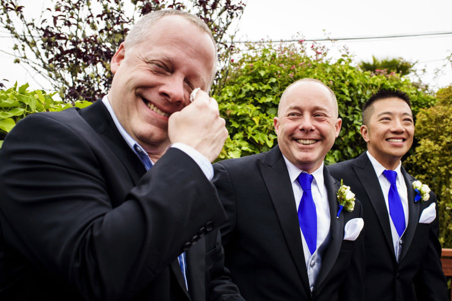 Winston and Brian's wedding at The Box in San Francisco, CA.