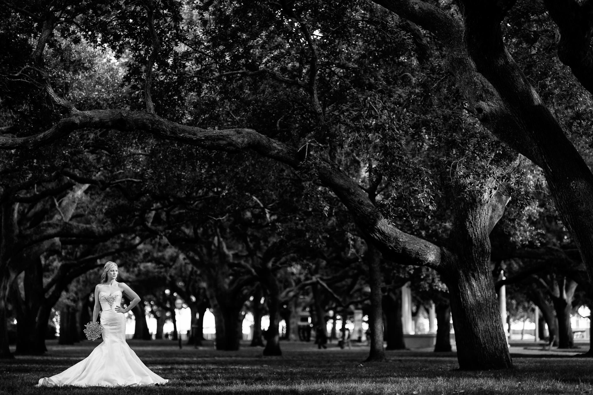 Sarah Smith's bridal session in Charleston, SC.