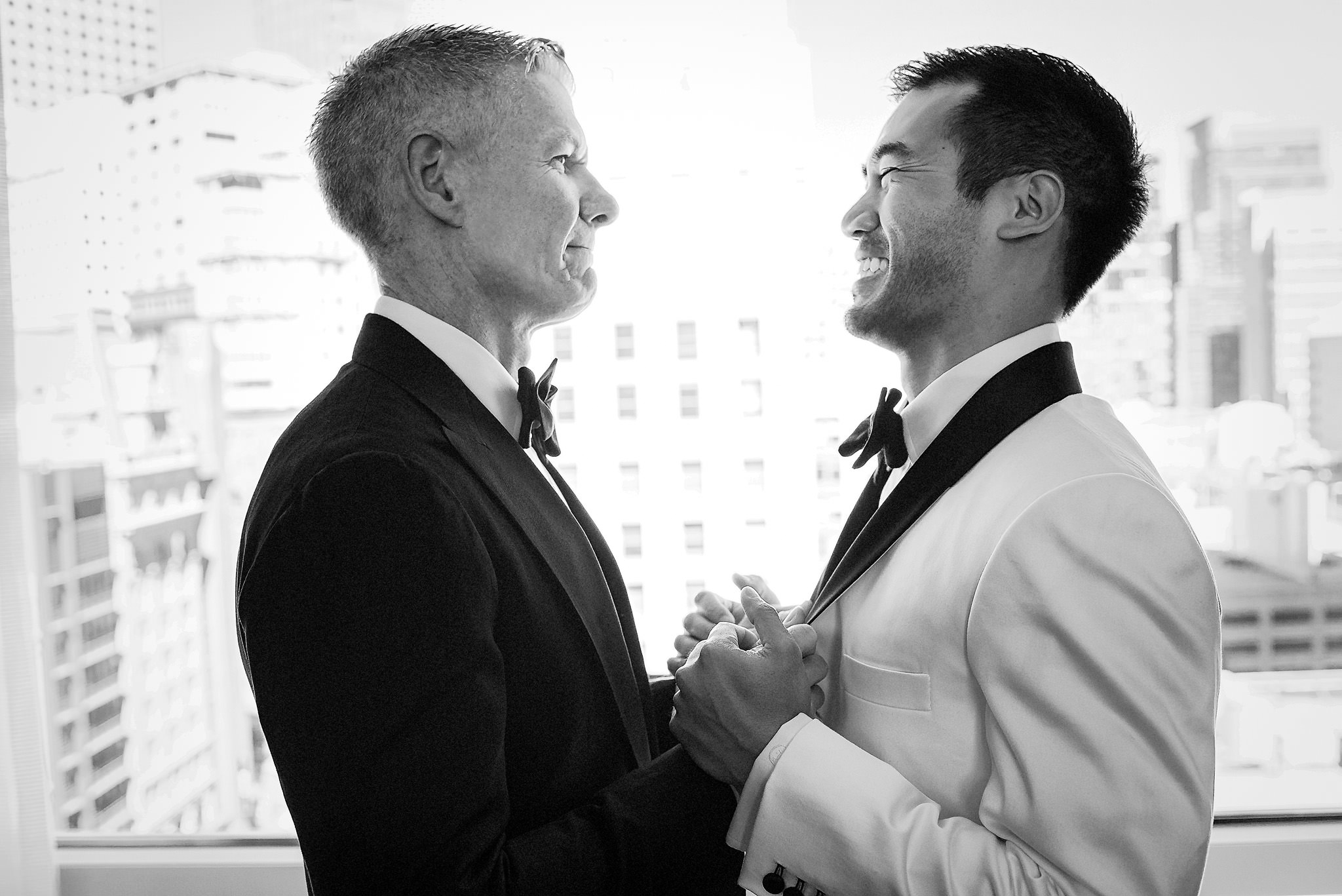 SF Wedding at Grace Cathedral, Four Seasons