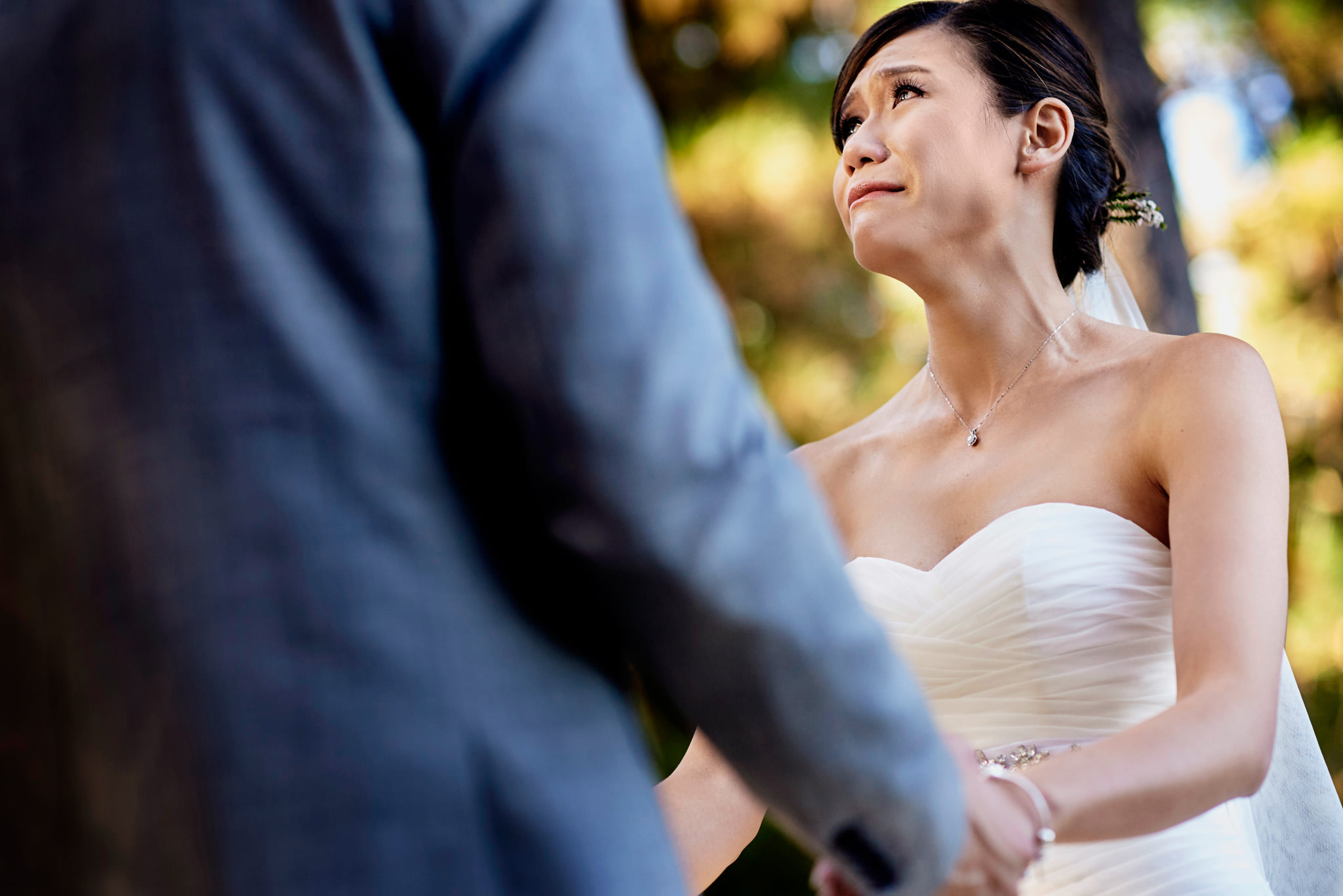 Melanie & Eugene's wedding at Forest House Lodge in Foresthill, CA