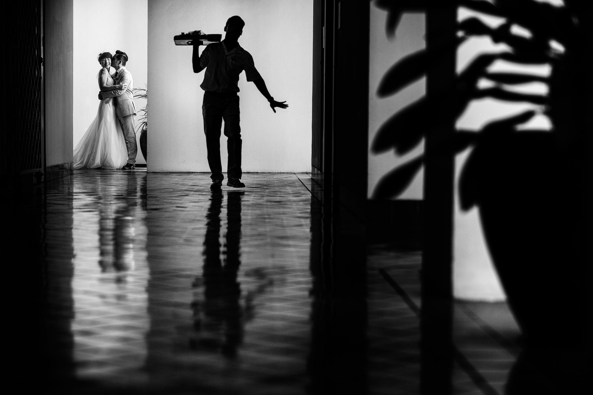 Unique wedding portrait Sukhothai Bangkok