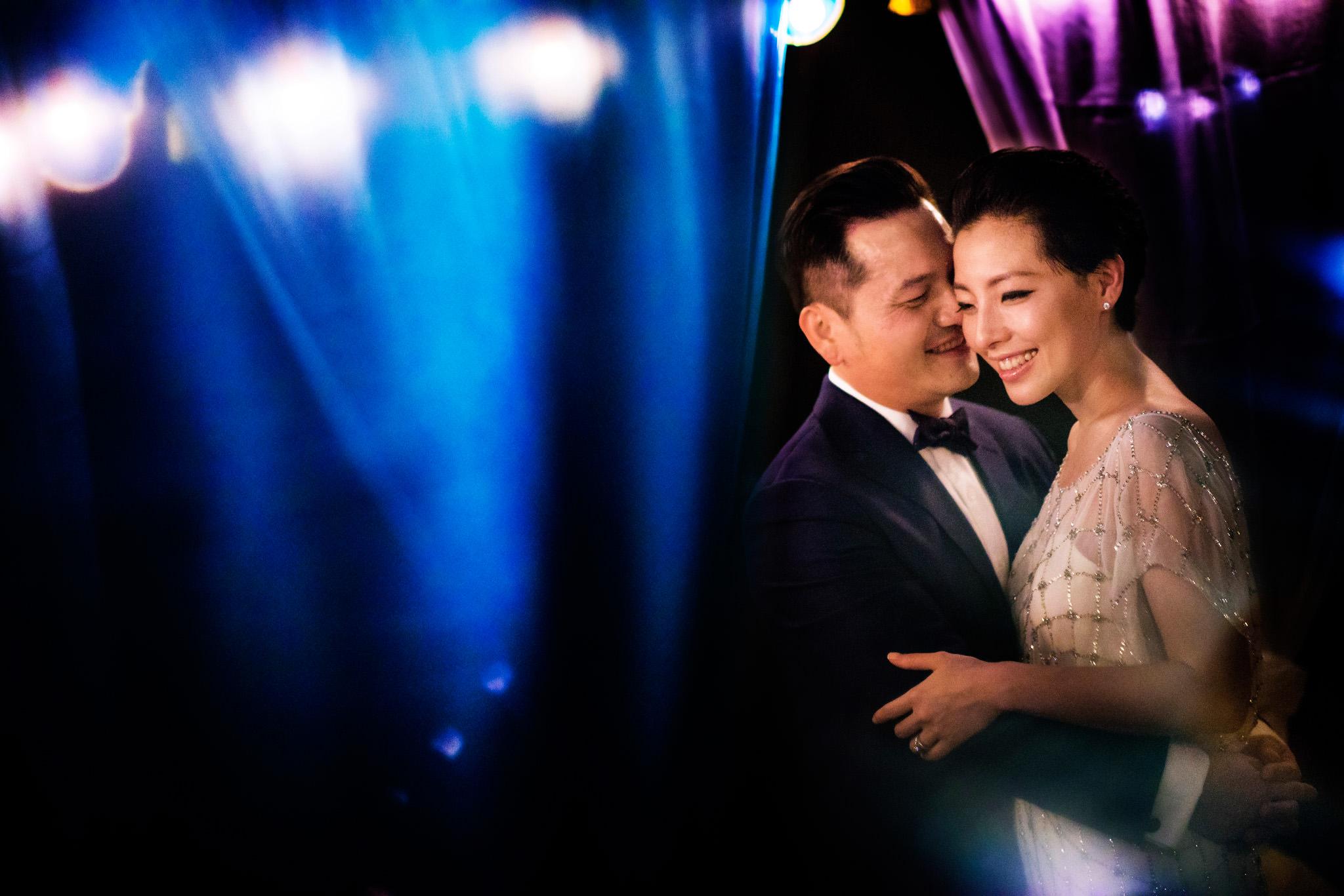Bride and groom at Hansar Bangkok