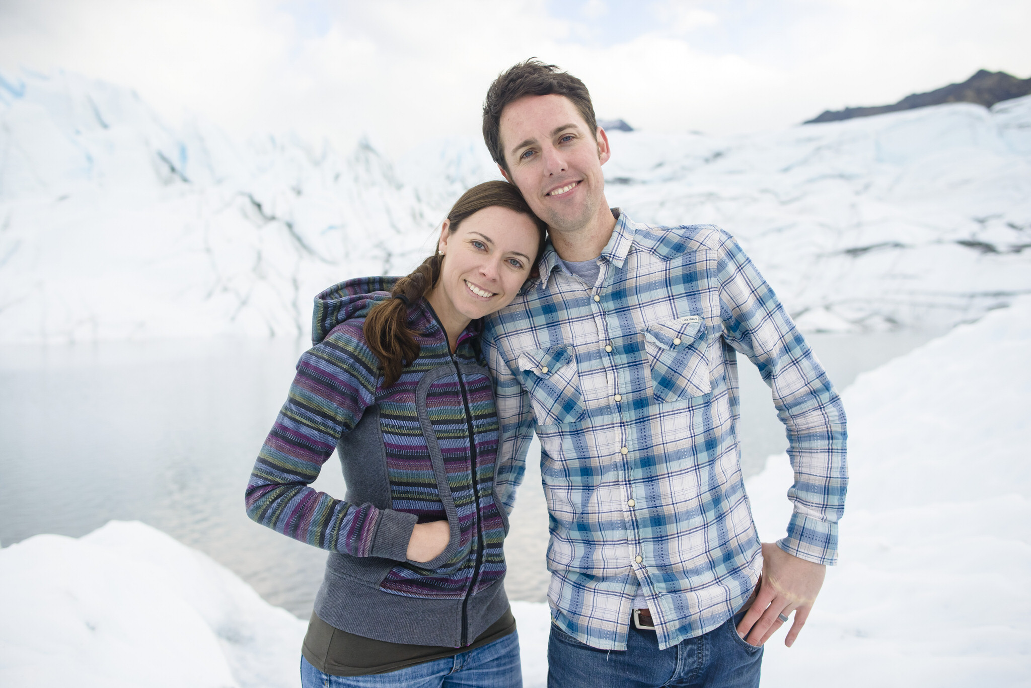 Sarah and Angelique's engagement session in Alaska.
