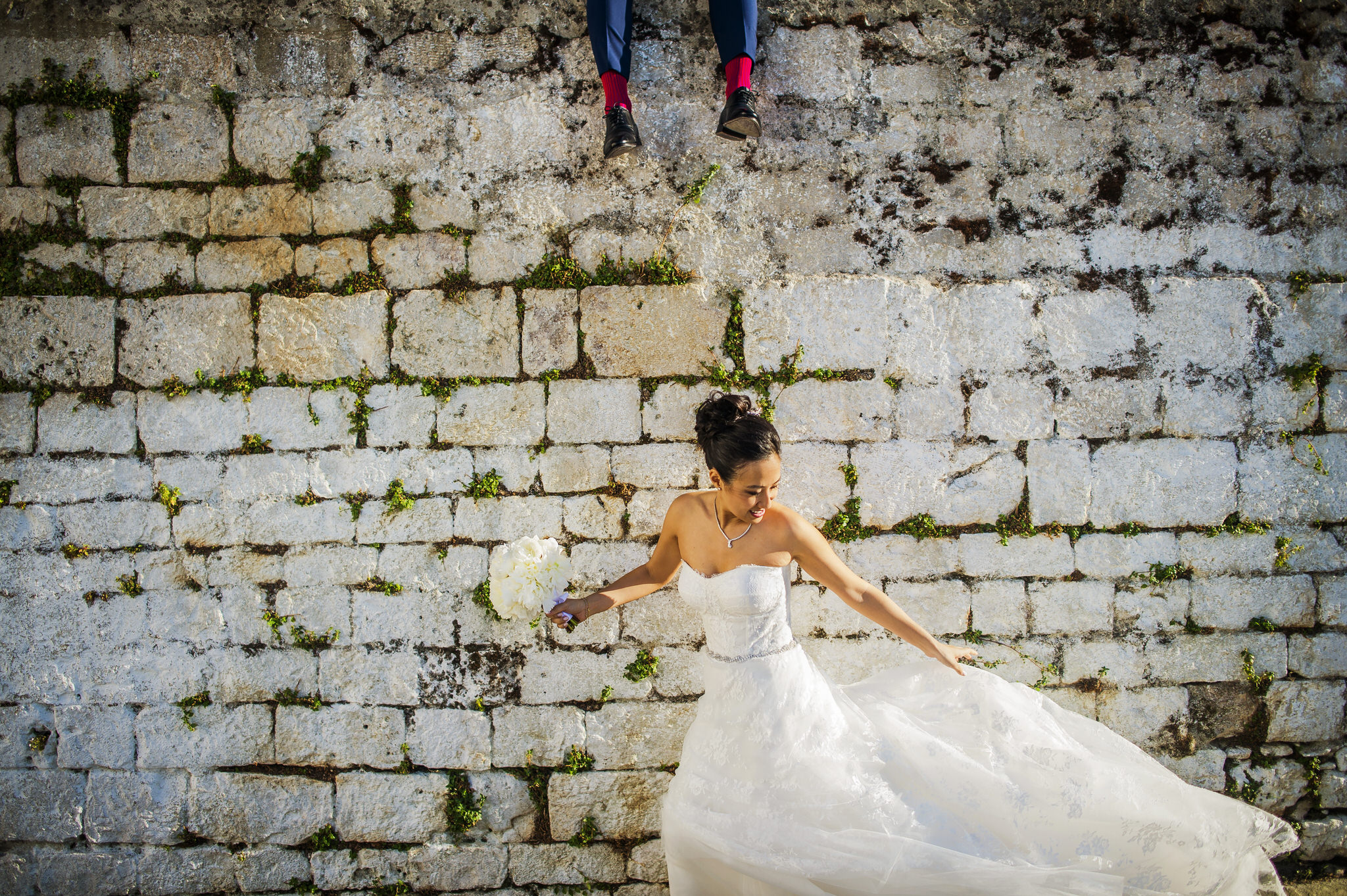 Lillian and Cristiano's wedding at Borgo Egnazia in Puglia, Italy.