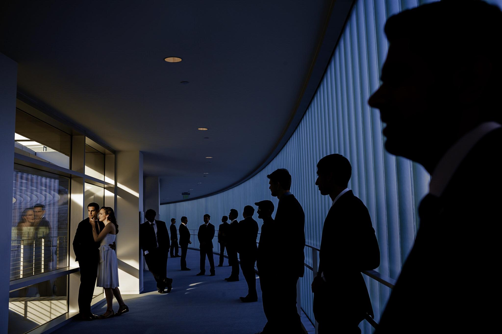 Lauran and Shyam's wedding at the San Jose City Hall in San Jose, California.
