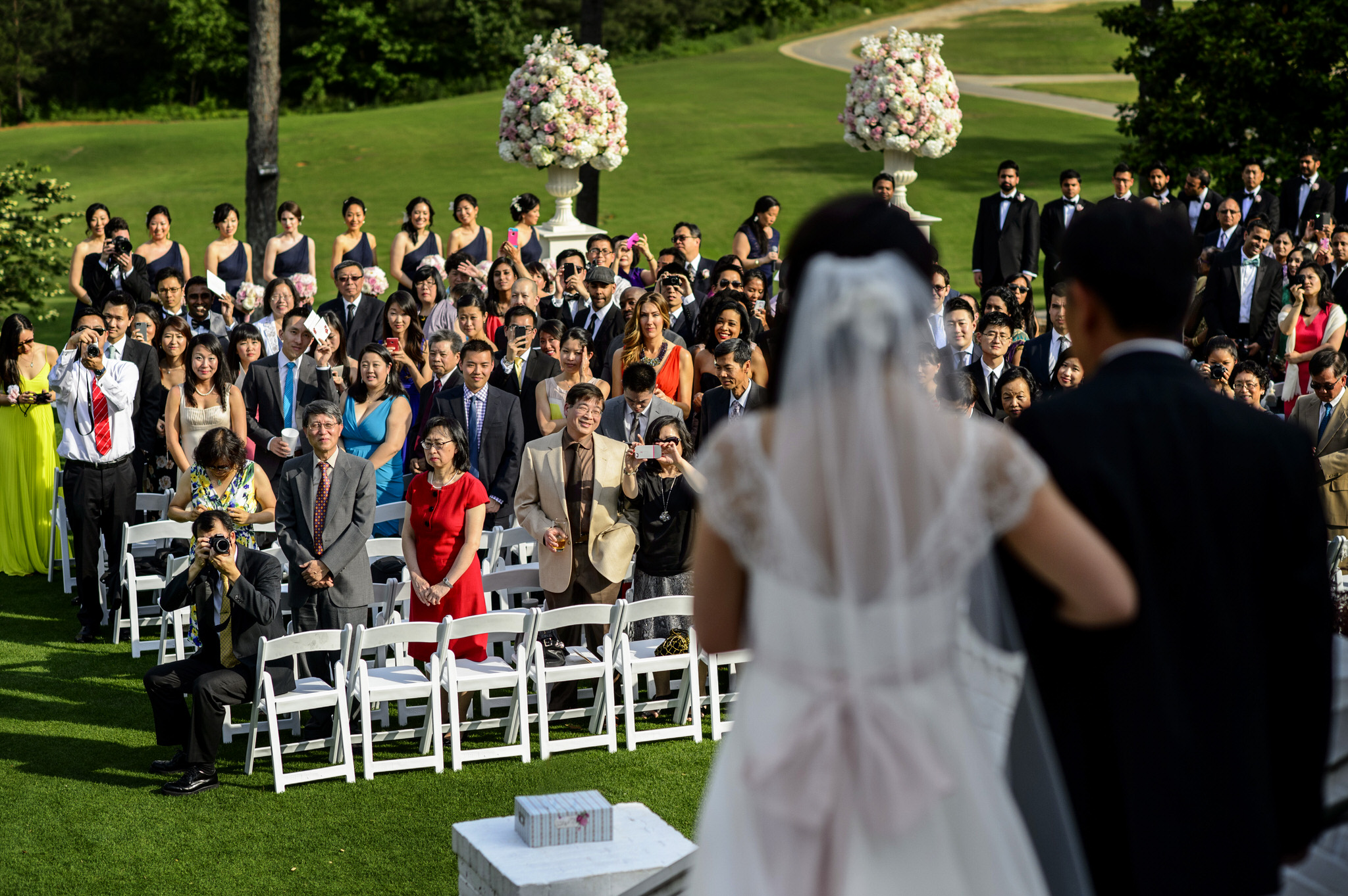 Lulu and Rahul Khara's wedding at Sugarloaf Country Club in Duluth, GA.
