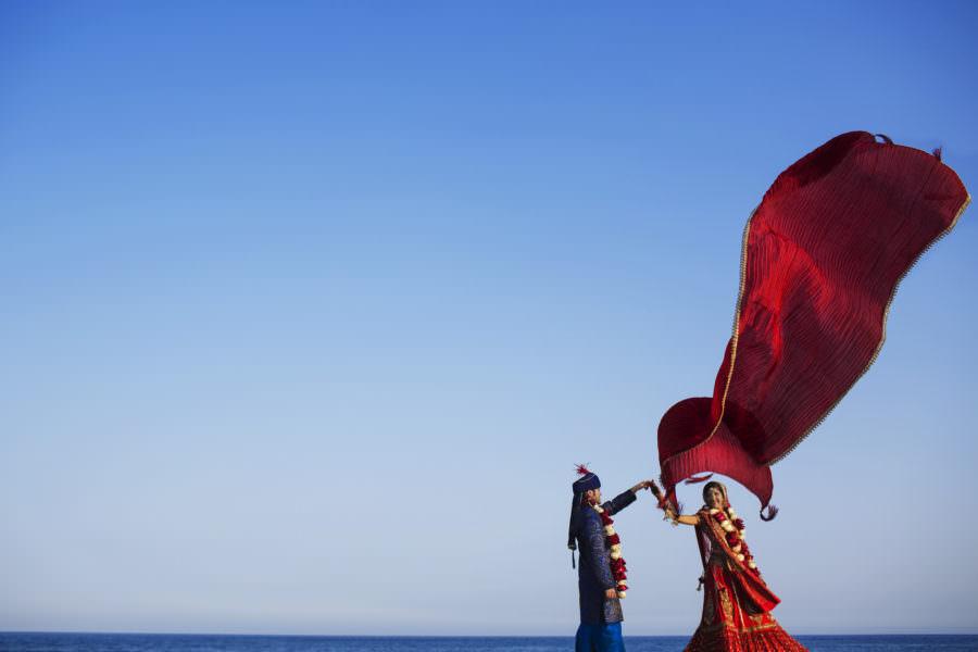 Navita and Manu's wedding in Cabo San Lucas, Mexico.