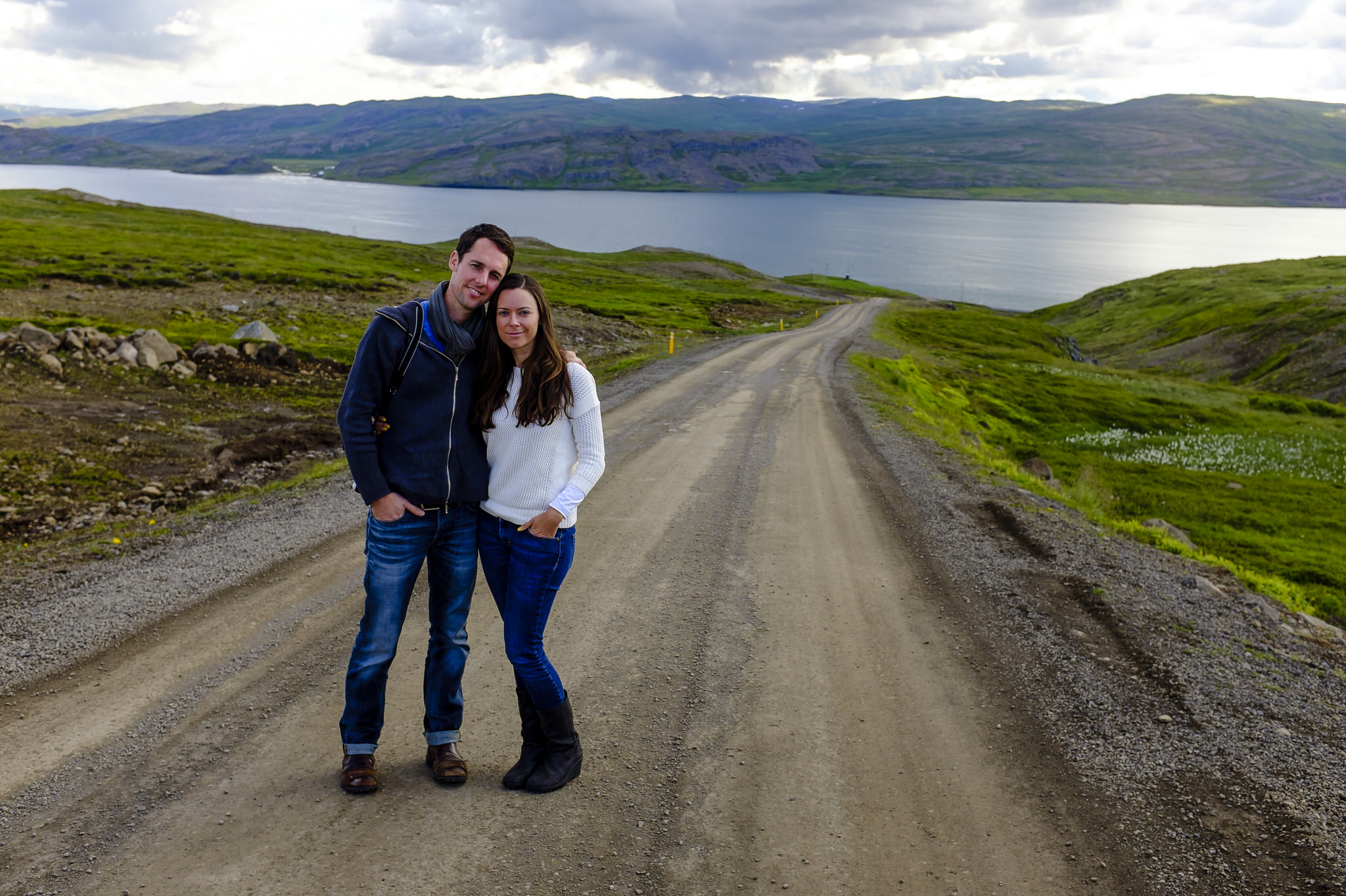 Buffy and Mike's wedding in Iceland.