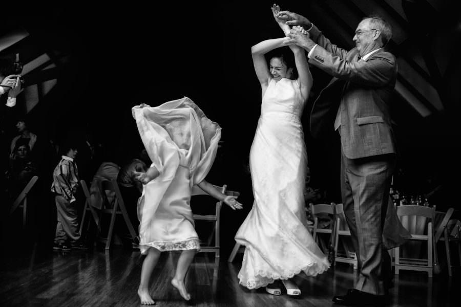 Jenny and Dan's wedding at the Brazilian Room in Berkeley, California.