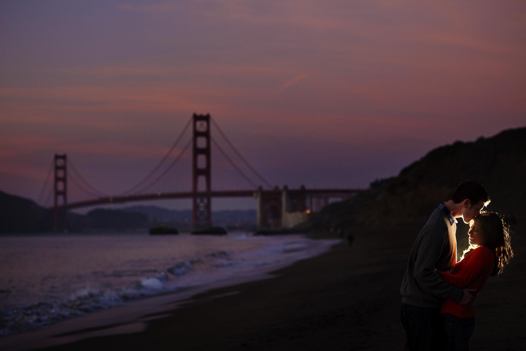Seema and Thomas' engagement photos in San Francisco, CA