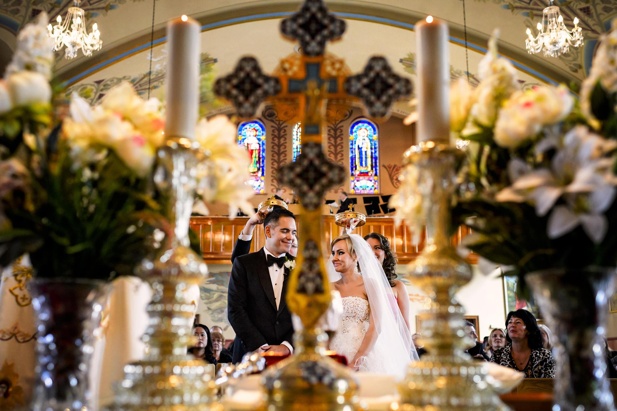Anya and Jason's wedding at the Trump International hotel in Toronto, Canada.