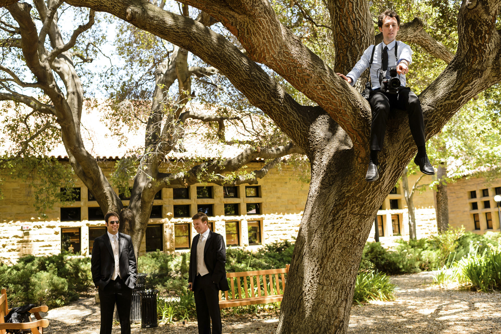 Brittany and Connor's wedding at Stanford University in Stanford, CA.