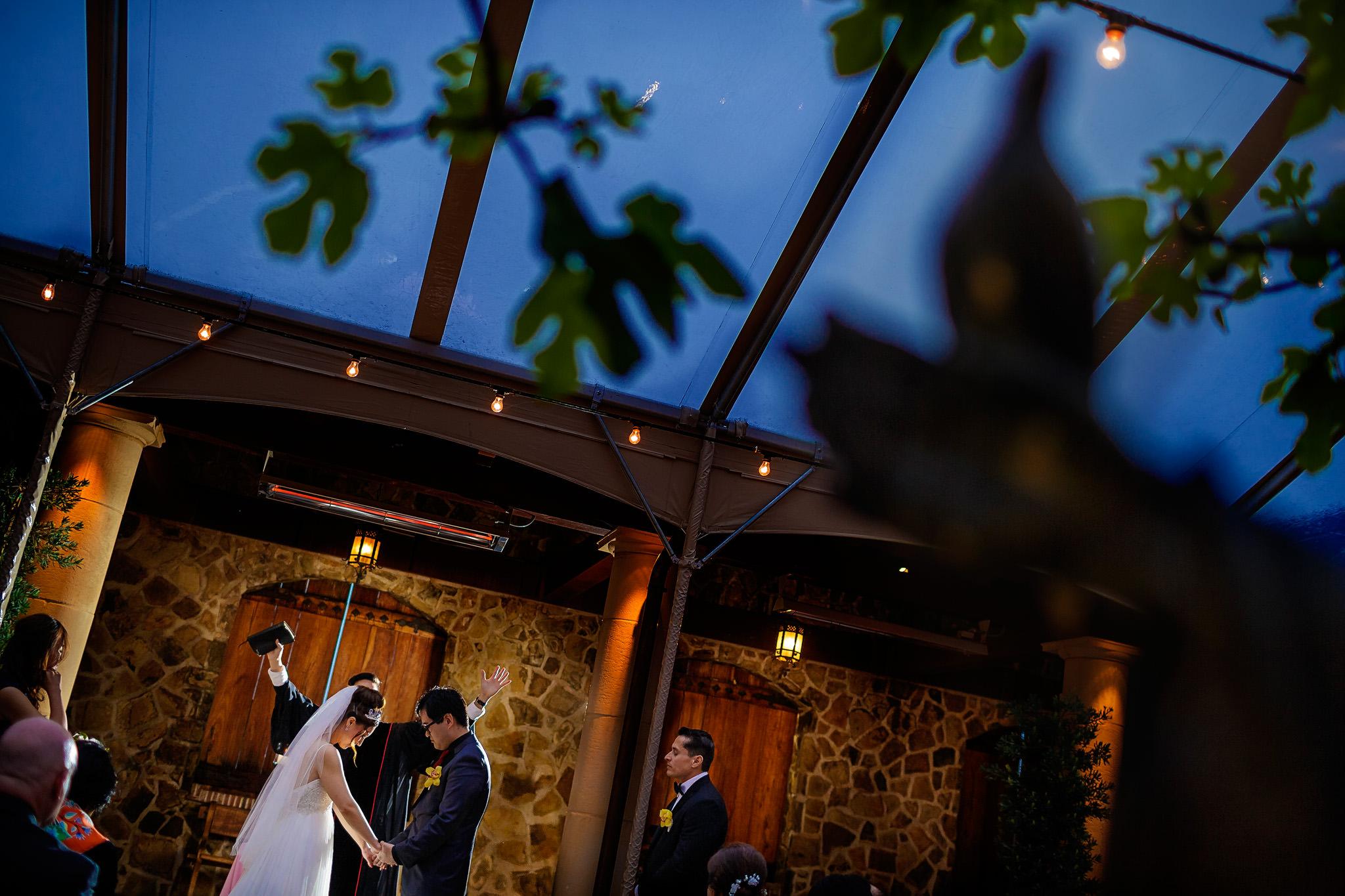 sonoma wedding at jacuzzi family vineyards