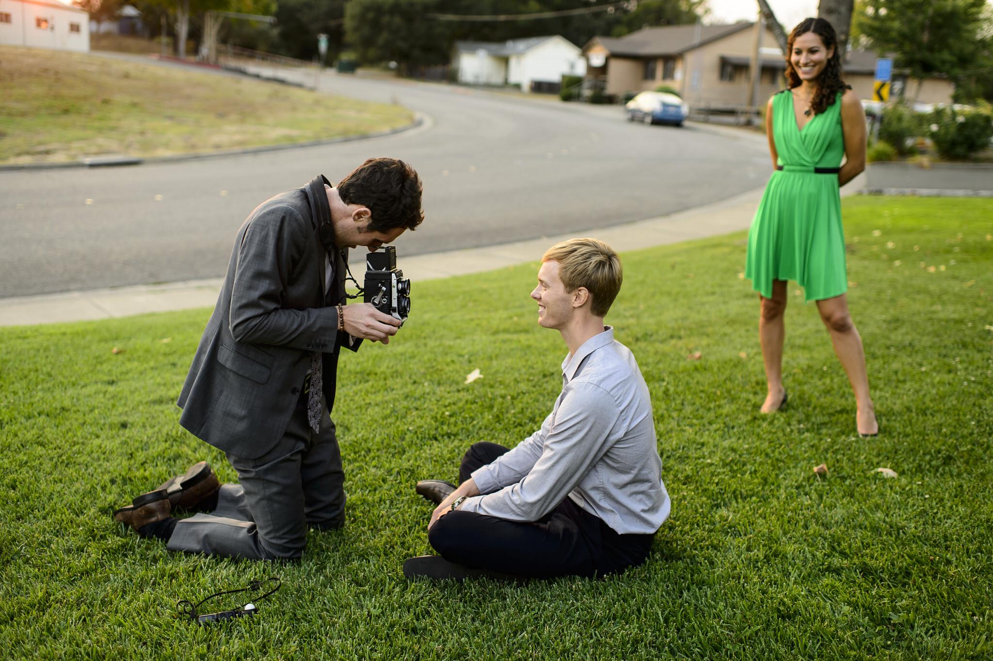Natalie and Cody's wedding at Vine Hill House in Sebastopol, California.