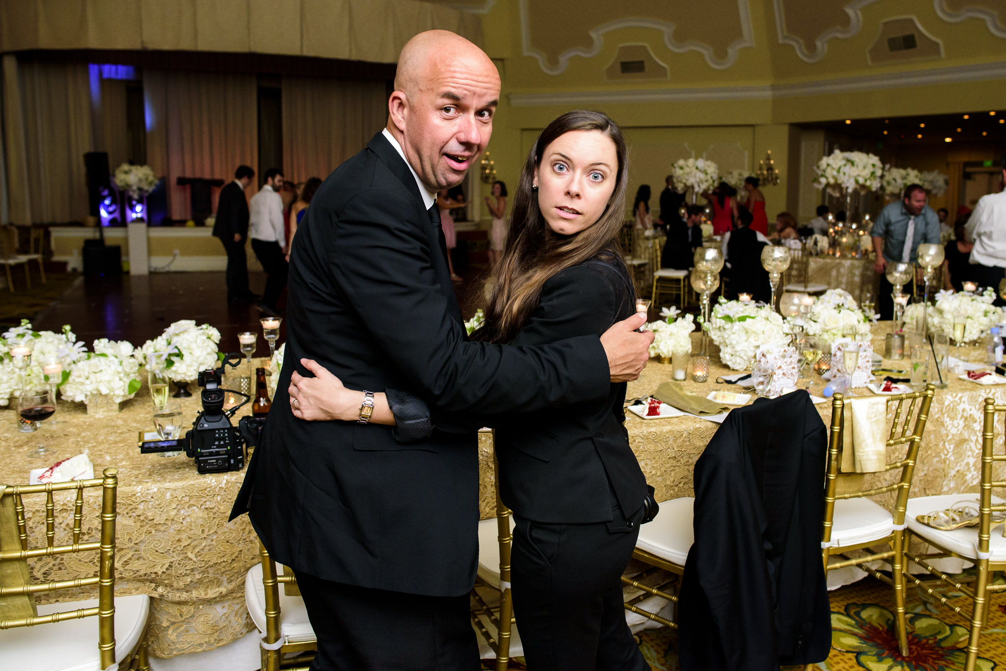 Abby and Chris' wedding at the Hotel del Coronado in Coronado, California.