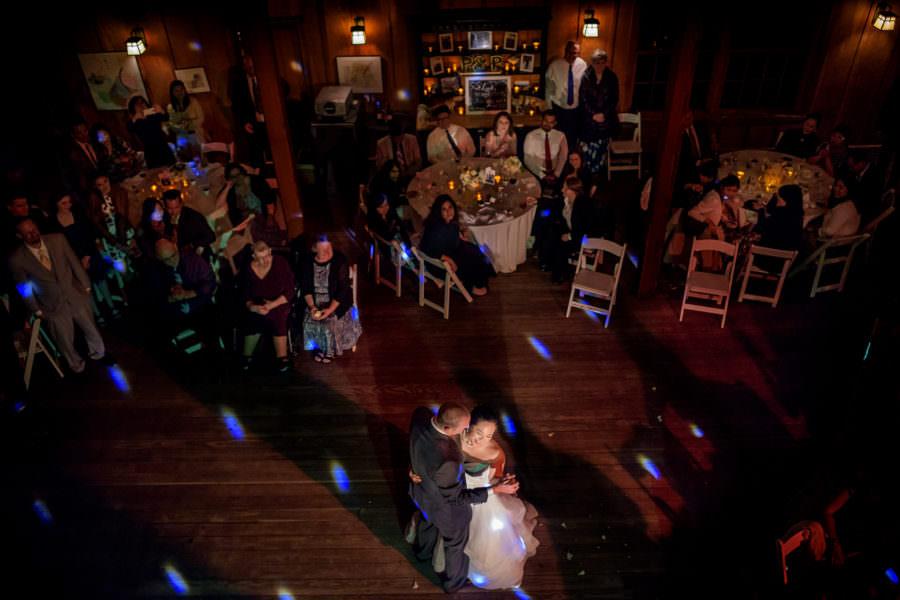 Poyin and Peter's wedding at Nestldown in Los Gatos, California.