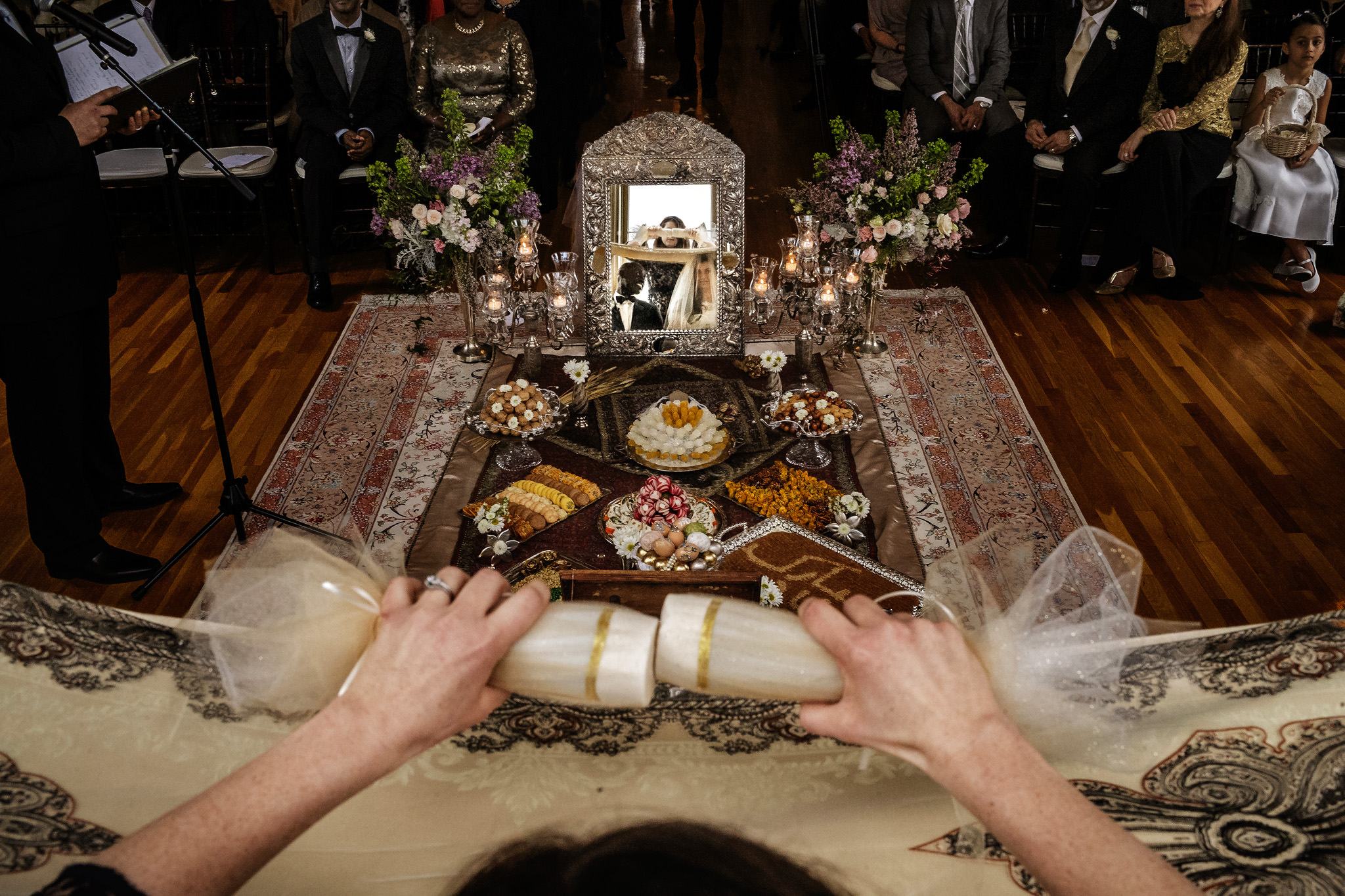 Persian wedding traditions California