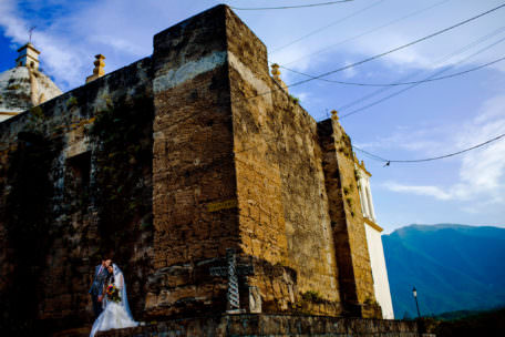 Santiago wedding portrait