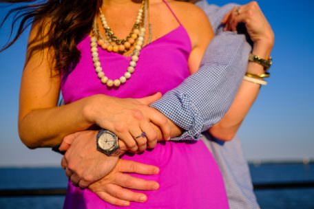 Meredith and Cameron's engagement session in Charleston, South Carolina.