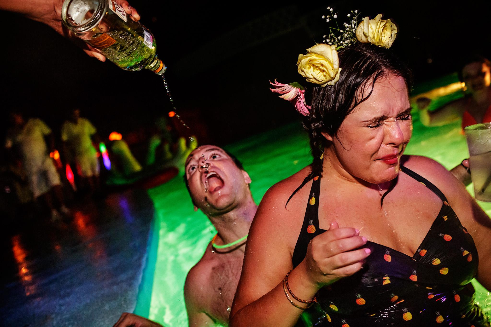 Erandi and Zach's wedding at Hotel Boca Chica in Acapulco, Mexico.