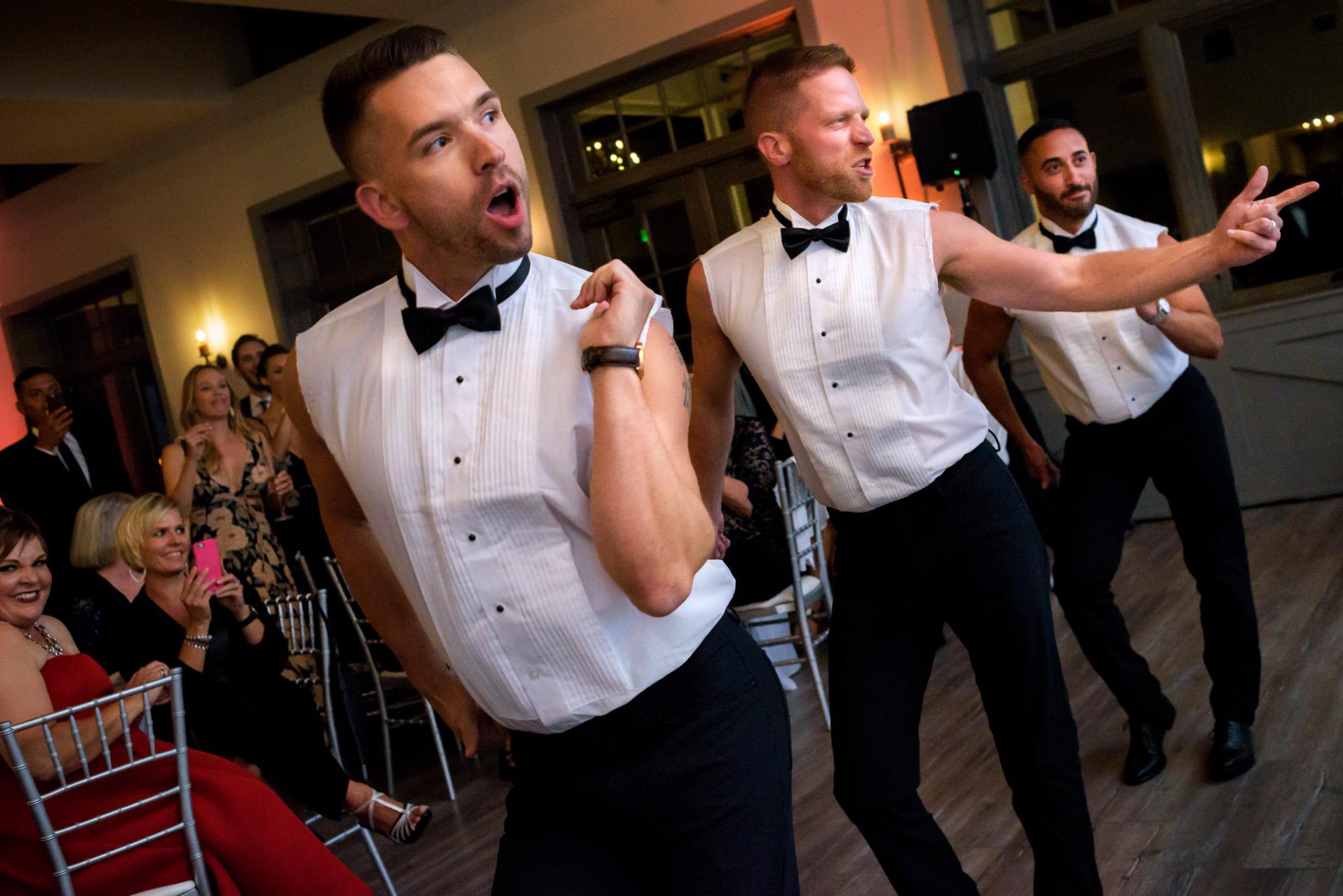 Eric and David's wedding at Oceano Hotel in Half Moon Bay, California.