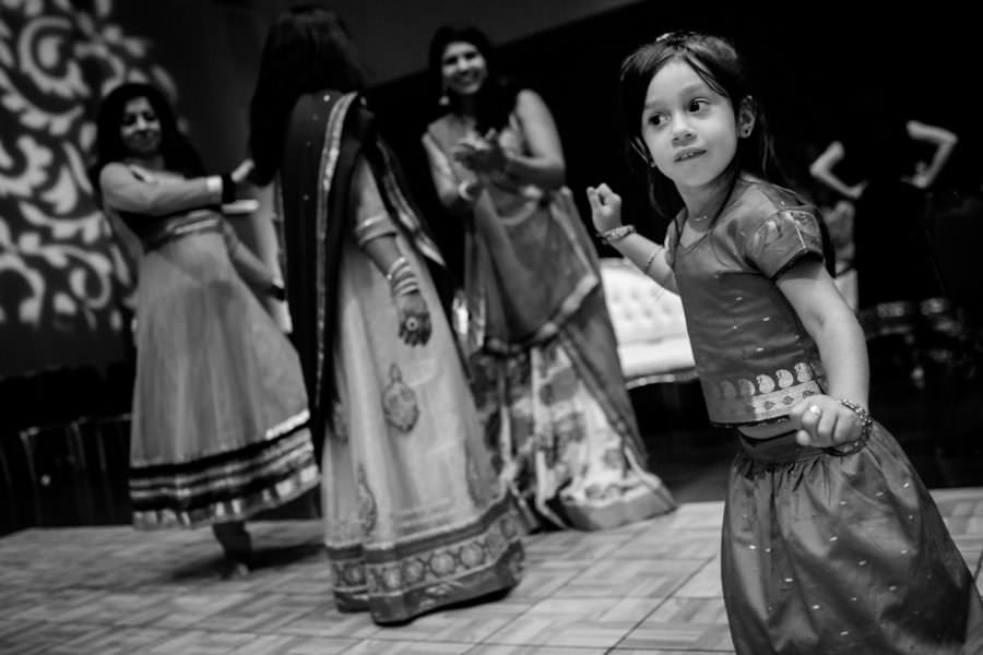 Pragya and Deepak's sangeet at the Jewish Community Center in Palo Alto, CA.