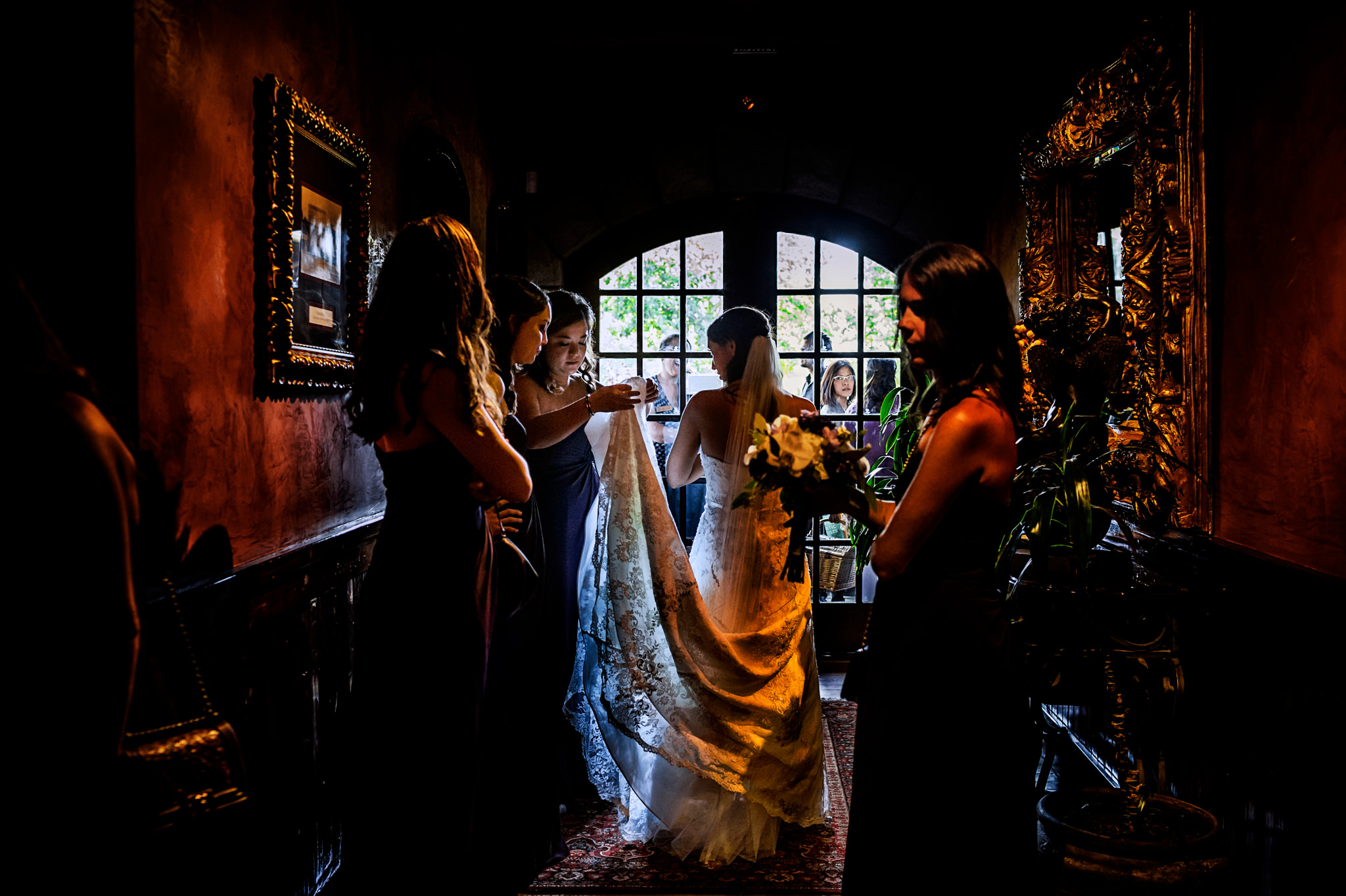 Ashley and Tyler's wedding at V. Sattui Winery in St Helena, California.