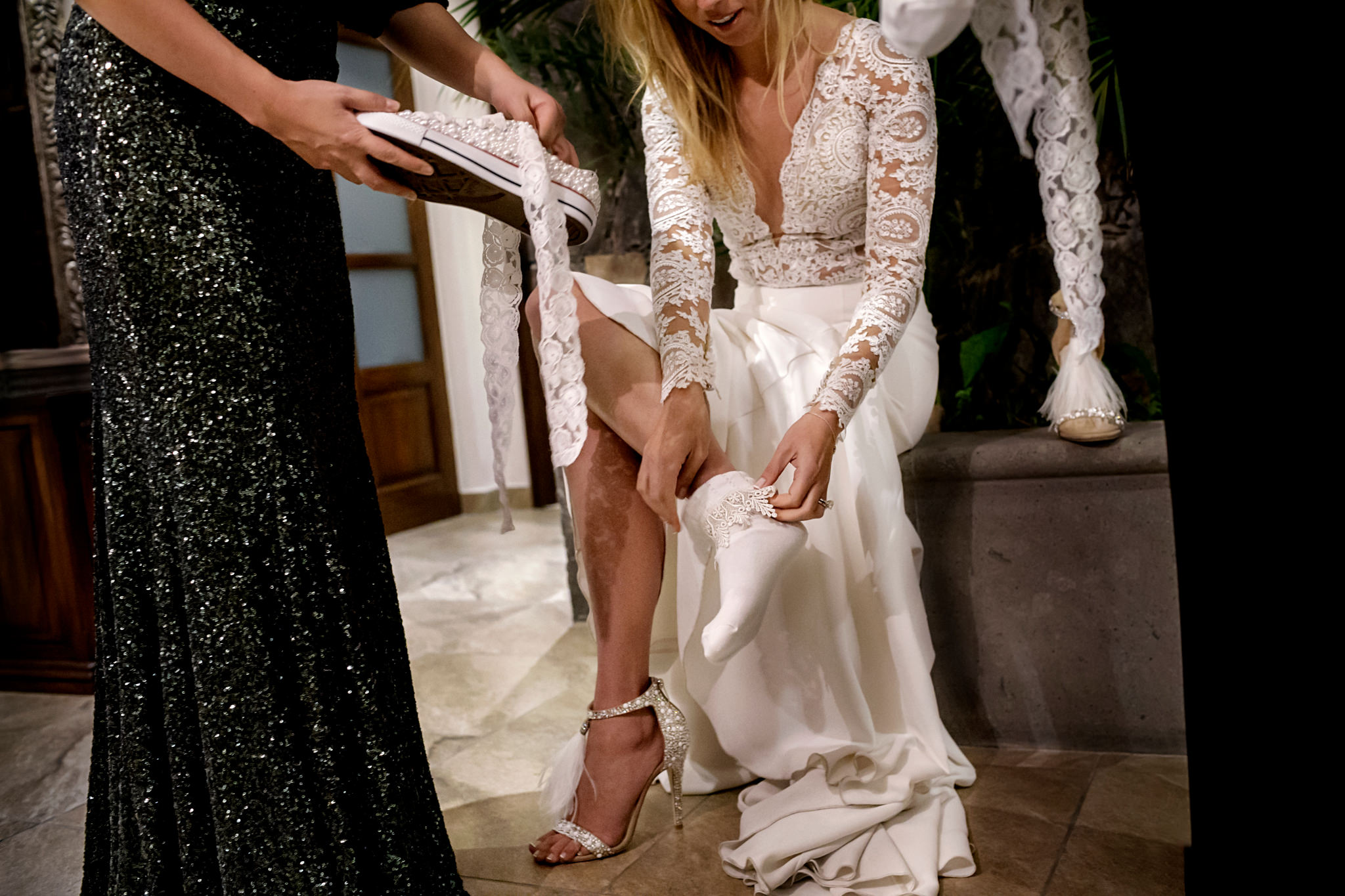 Krystal and David's wedding at Rosewood in San Miguel de Allende, Mexico.
