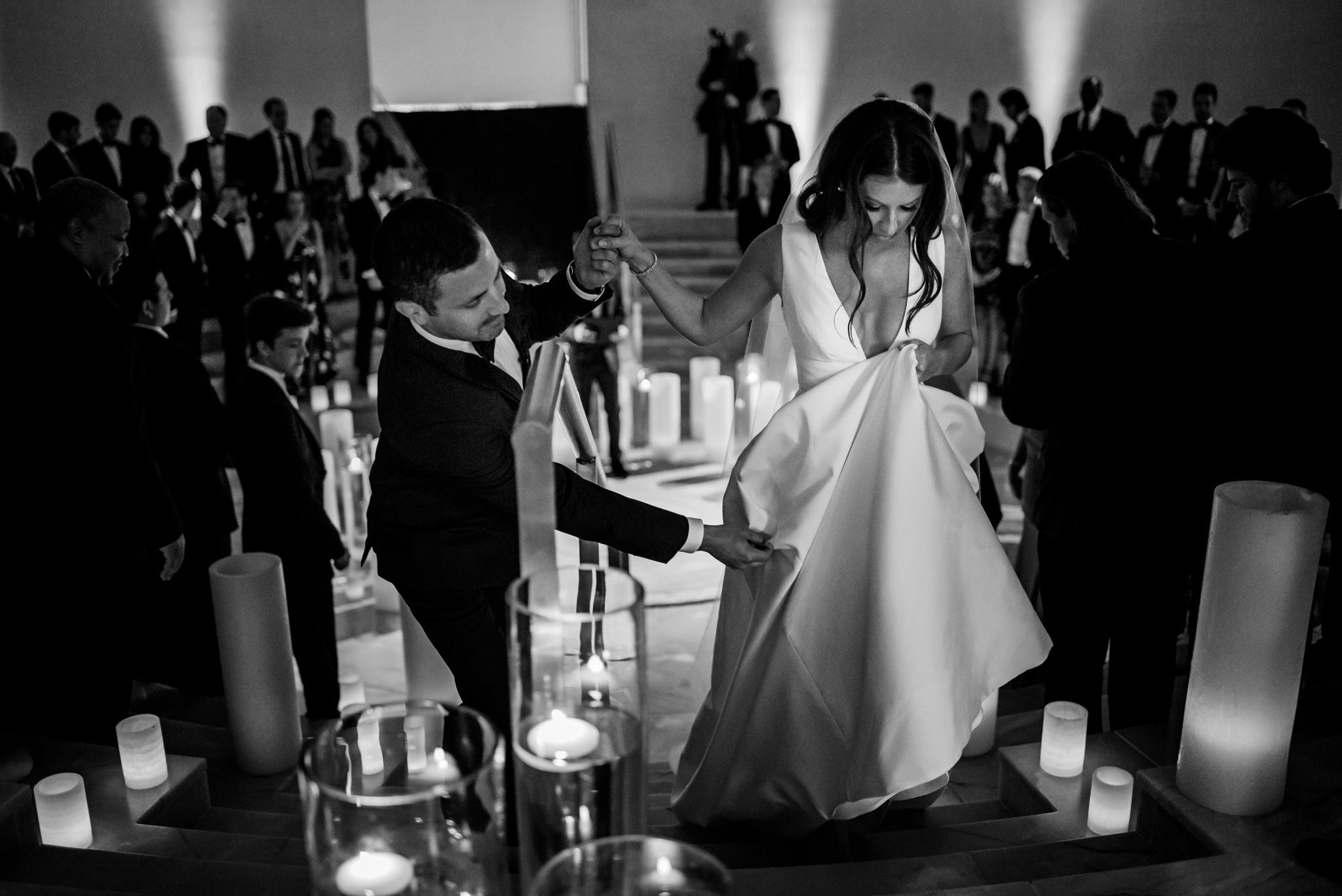 Ashley and Derek's wedding at Faena Forum in Miami Beach, FL.