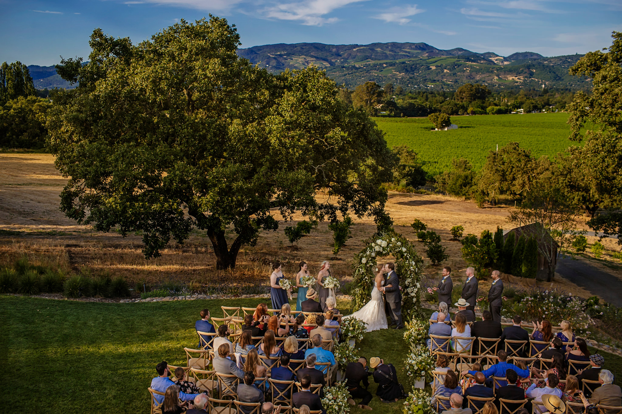 Jenny and Noel's wedding at the Nicholas Carriger Estate in Sonoma, California.
