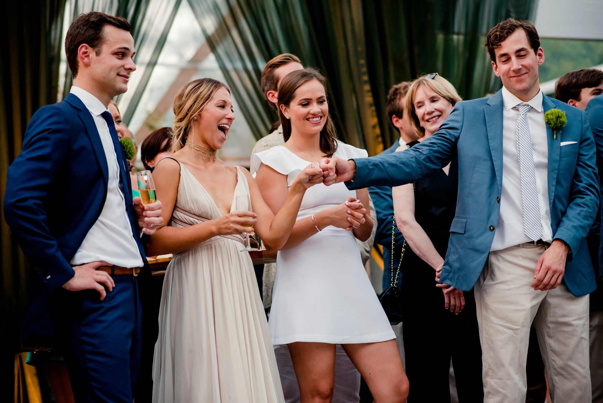 Addie and Pete's wedding at Lowndes Grove in Charleston, South Carolina
